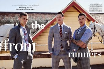 [Fashion Editorial] GQ Australia présente : le gentleman d'écurie