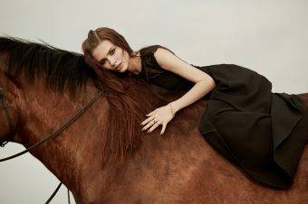 [Fashion Photography] Tima Sergeev : the horse and the girl
