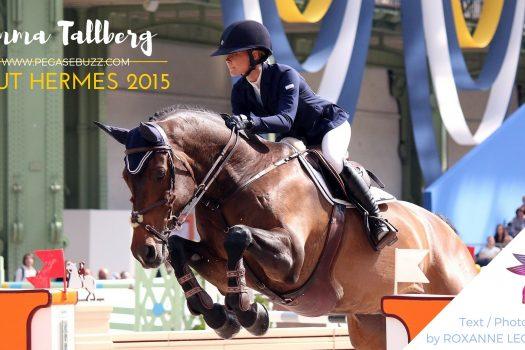 [Saut Hermès 2015] Les Talents : Emma Tallberg & Dolce Vita Crosby