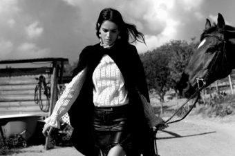[Fashion Editorial] Amanda Wellsh, une top cow-girl !