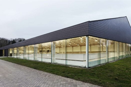 [Dream Barn] Le manège de Fursan Equestrian Center, Chantilly