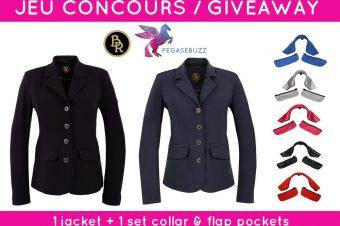 [CONTEST] Jeu Concours : 1 veste personnalisable BR Equestrian à gagner !