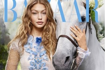 [Fashion Editorial] Le cheval blanc de Gigi Hadid