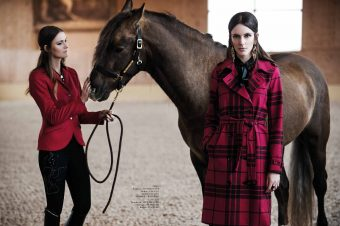 [Fashion Editorial] Equistyle : A day at the barn