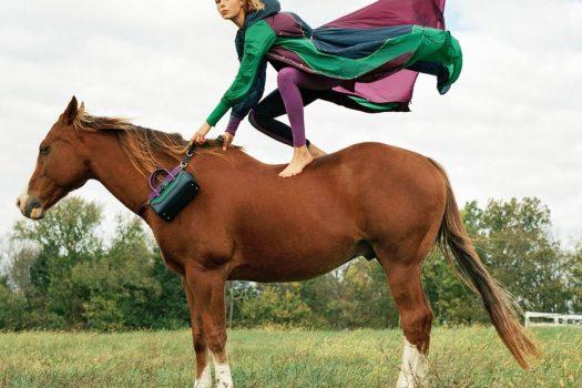 [Fashion Ad] Versace à cheval cet été