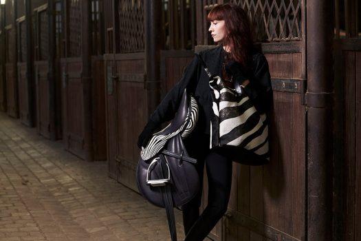 [Equestrian Fashion] Guibert Paris : une collection zébrée à l'Académie équestre de Versailles