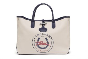 [Crush] Le cabas Roseau Longchamp 1948