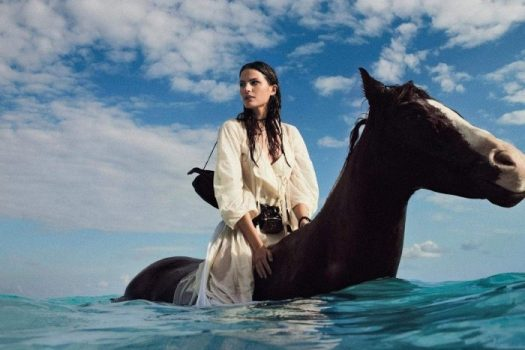 [Fashion Editorial] Cameron Russell : cow-girl comme un poisson dans l'eau