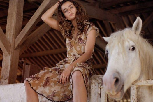 [Fashion Editorial] Vogue Paris : galop pleine nature
