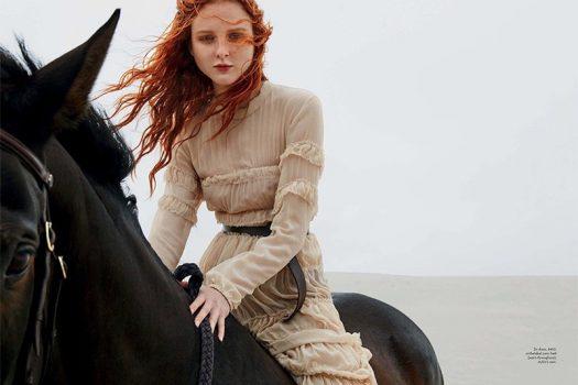 [Fashion Editorial] Simon Upton for Marie-Claire Australia : Wild Beauty