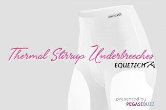[Equestrian Fashion] Thermal Stirrup Underbreech by Equetech