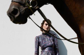 [Fashion Editorial] Pauline, Myself and polo pony