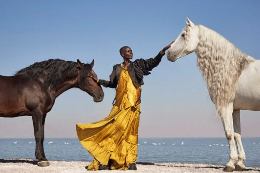 [Fashion Editorial] Quand Richard Phibbs rencontre Grace Bol