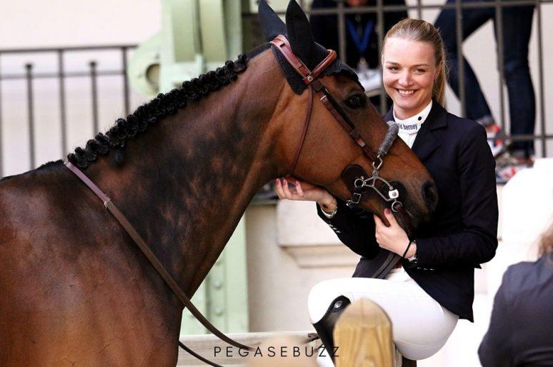 """""""Pour vivre de mon sport, le commerce de chevaux est essentiel"""" Laetitia du Couëdic"""