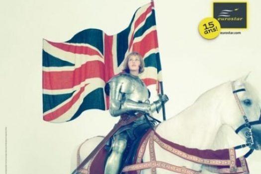 [Advertising] Eurostar : Jeanne d'Arc is back !