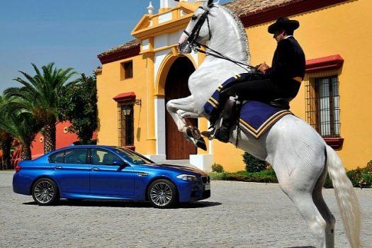 BMW M5, 560 chevaux de Haute-Ecole