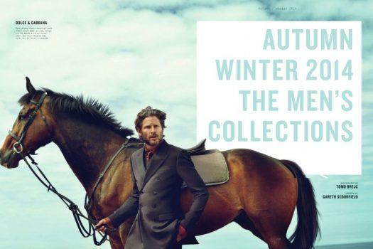 [Fashion Editorial] Esquire UK : Horseback men's collection