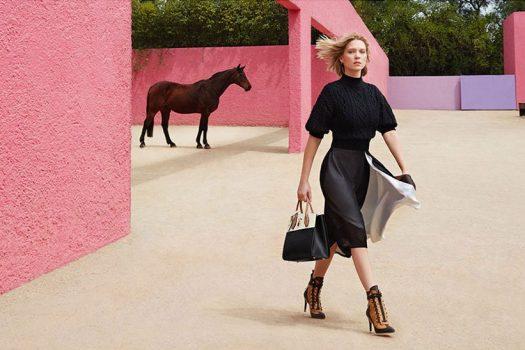[Advertising] Léa Seydoux, équine pour Louis Vuitton