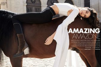 [Fashion Editorial] The Equestrian Kendall Jenner