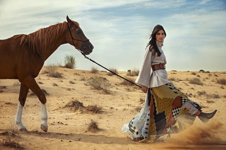 [Fashion Photography] Dans le désert des Émirats pour Villa88