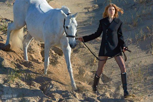 [Fashion Editorial] Le dernier galop de Numéro France