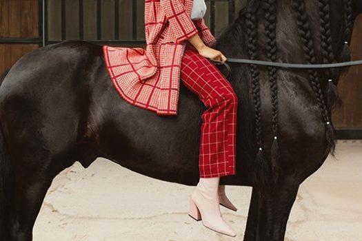 [Fashion Editorial] L'Officiel Lithuania : la rentrée aux écuries