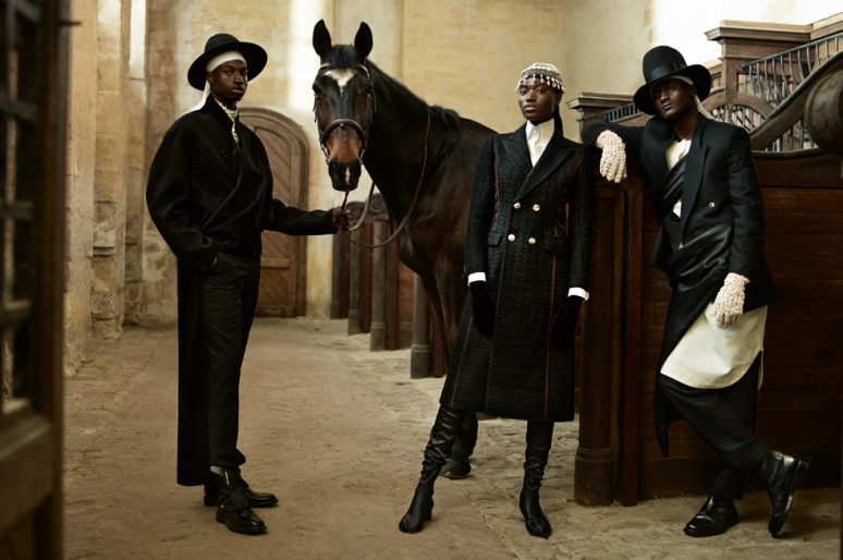 [Fashion Editorial] Numéro : le cheval néo-bourgeois