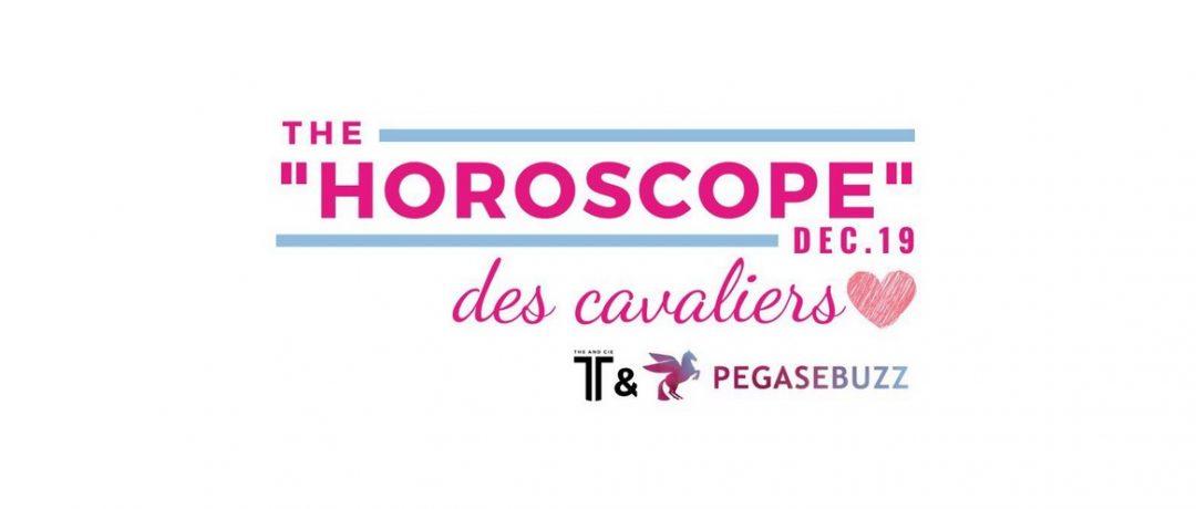 L'horoscope des cavaliers, décembre 2019