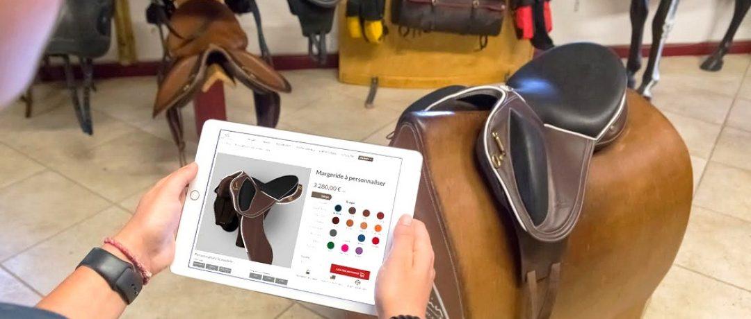 Personnaliser sa selle : la nouvelle expérience digitale de Gaston Mercier
